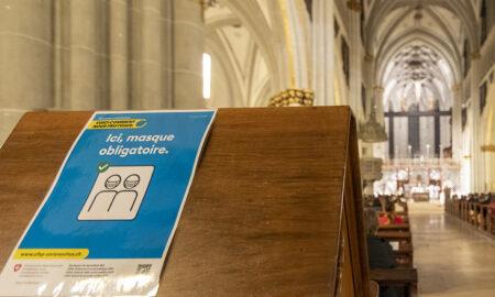 Messe de rentrée des étudiants 2020 @ Cathédrale de Fribourg © João Carita