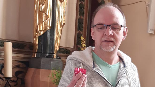 Gérard Dévaud, 51 ans, agent pastoral laïc