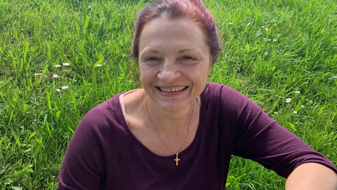 Lucette Sahli, 53 ans, Aumônier et prof d'ERC au CO de Marly