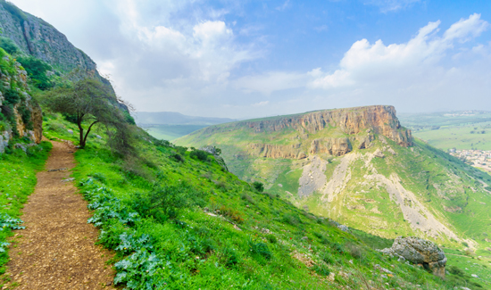 Mont Nitay Galilée XII